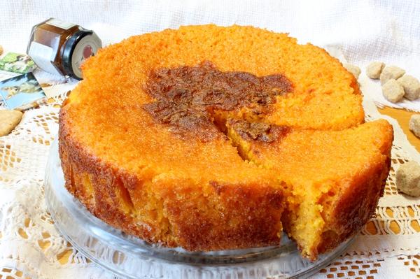 Морковный пирог в духовке простой рецепт